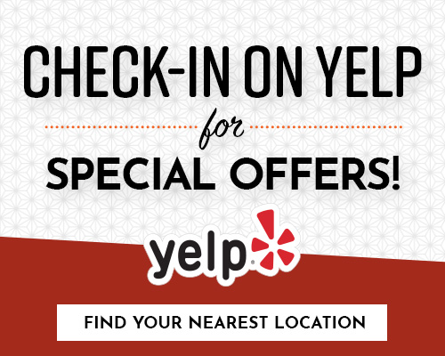 Check-in on YELP!